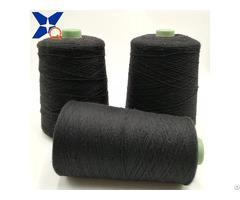 Nm26 2plies 30 Percent Carbon Inside Staple Fiber Blend 70 Percent Bulky Acrylic For Knitting Touc