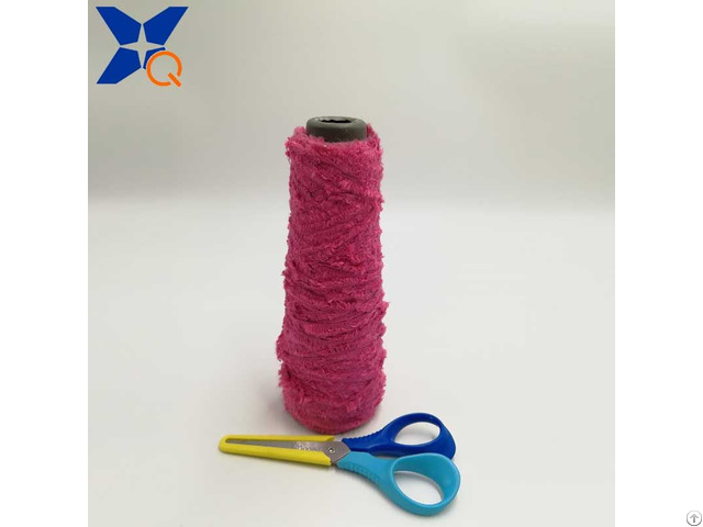 Nm13 Microfiber Half Fancy Yarns Could Not Pass Needle Detector Conductive Touchsreen Xt11018