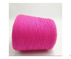 Acrylic Conductive Filaments 75d Twist With 2plies Nm20 Pink Bulky Spun Yarn Xt11231