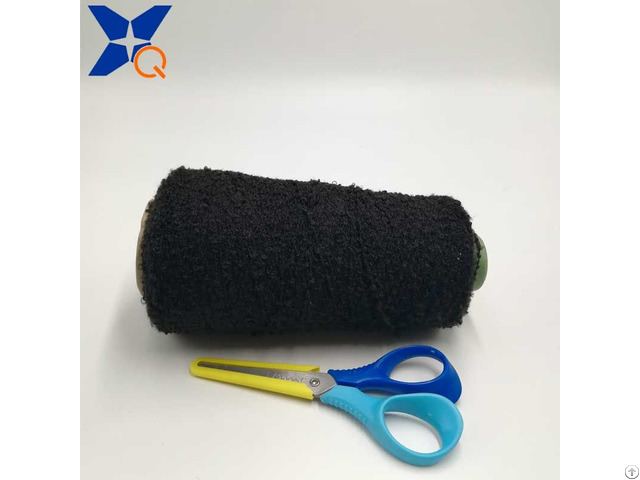 Black 300d Loop Yarn Pass Needle Detector Fancy Fashion Warmer Touchscreen Gloves Xt11420