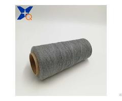 Nm23 2plies 65% Cashmere Wool 15% Nylon 20% Carbon Inside Fiber Worsted Spun Yarn Xt11495