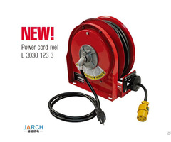 New Product Ultra Compact Retractable Steel Type 9m Premium Duty Power Cord Reels
