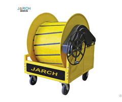 Hand Wheel Pre Conditioned Air Pca Hose Reel With Cart