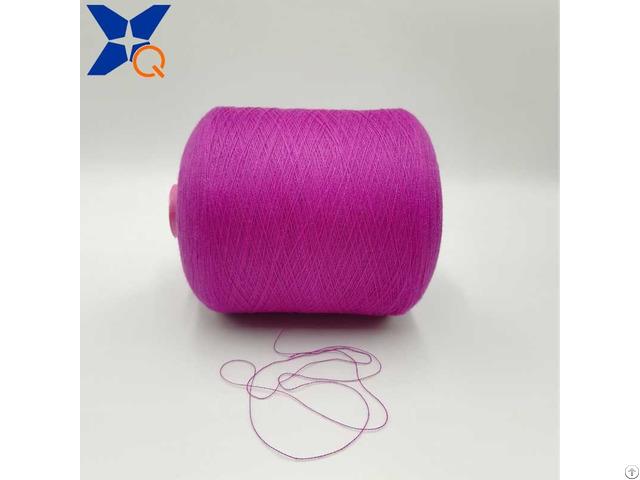 Ne21 2plies 10% Stainless Steel Blended 90% Polyester For Knitting Touch Screen Gloves Xt11929