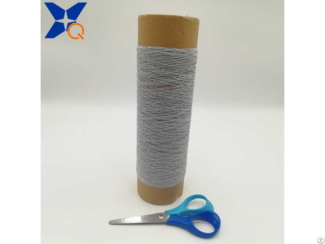 150d Polyester Filaments Twist With 12micron 100filaments 2plies For Conductive Thread Xt11935