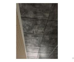 Turktav Wood Looking And Flat Clip In Ceiling Floor Systems