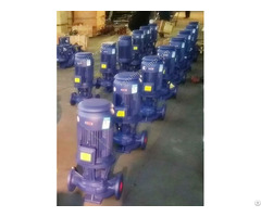 Isgb Vertical Pipeline Centrifugal Pump Easy Disassembly