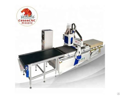 Cosen Cnc Auto Feeder Two Process Router And Drilling Package