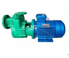 Plastic Self Priming Chemical Transfer Pump