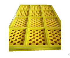 Tensioned Pu Screen Panel