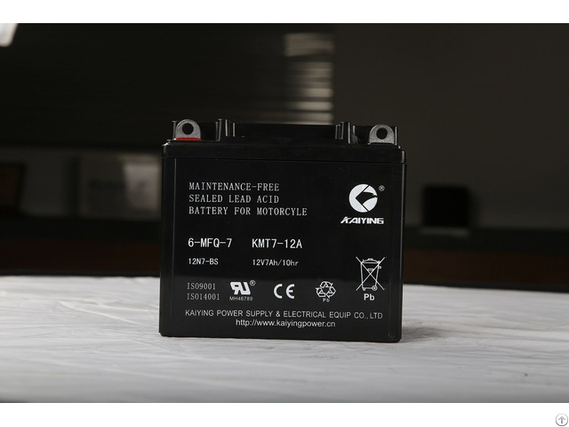 12v7ah Motor Cycle Maintainfree Lead Acid Battery