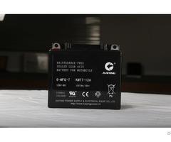 12v7ah Motor Cycle Maintainfree Lead Acid Battery