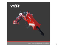 Pedestal Breaker Booms System For Grizzly