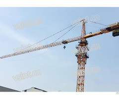 Tower Crane Qtz63 Tc5013 Mc85 Type Topkit Hammer Head 5t 50m Jib Length Used In Dubai