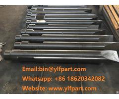Inan Makina Excavator Hydraulic Breaker Hammer Moil Point Chisel For Mtb Mt150