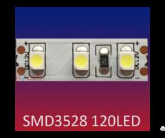 Smd3528 120led M High Lumen Flexible Led Strip Light