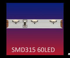 Smd315 60led M Side View Emitting Flexible Led Strip Light