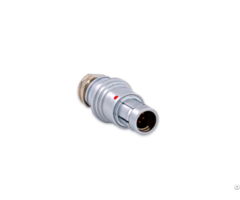 Push Pull Self Latching F Series 4pin Metal Plug Connectors