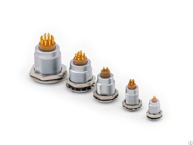 Push Pull Self Latching Different B Series Sizes Of Sockets Connectors
