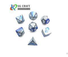 Custom Metal Dice Set