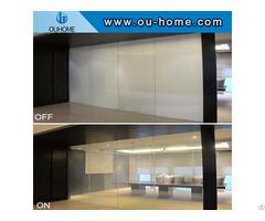 Opaque Adjustable Electronic Glass Film