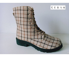 Fabric Upper Casual Classic Injection Boots
