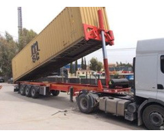Tipping Container Trailer 40 Feet Femmerr
