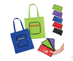 Promotional Folded Nonwoven Tote Bag