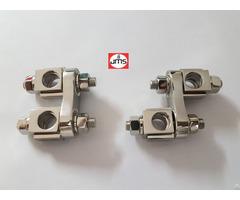Twin Adjustable Clamp Orthopedic External Fixator
