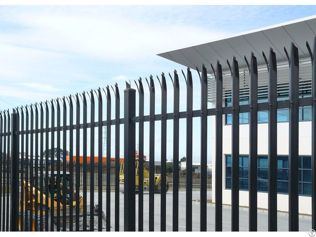 D Section Palisade Fence