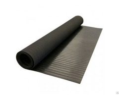 Anti Slip Wide Ribbed Rubber Sheet