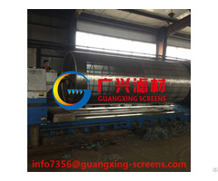 Wedge Wire Drums For Waste Watertreatment