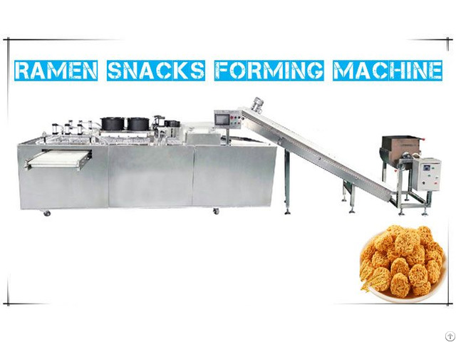 Ramen Snacks Forming Machine