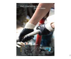 Pvc Particles Slip To Kill Fish Dip Gloves
