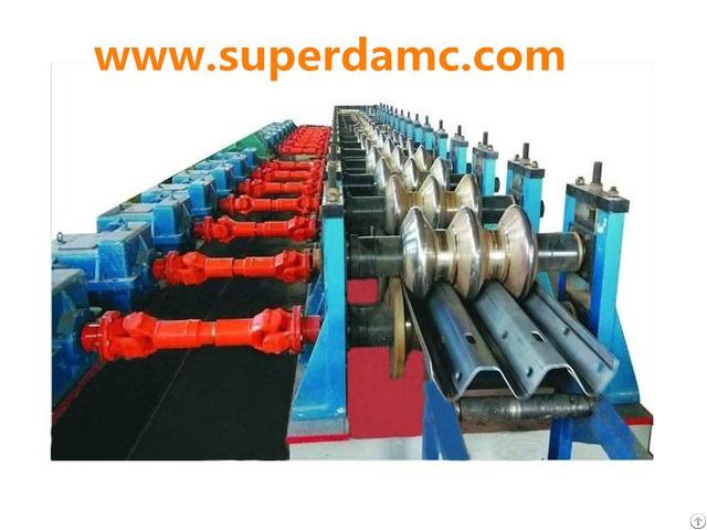 Superda Highway Guardrail Forming Machine For 3 Wave Beam