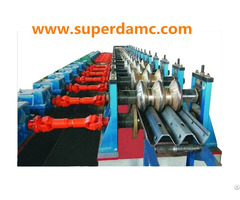 Superda Highway Guardrail Forming Machine For 3 Wave Beam