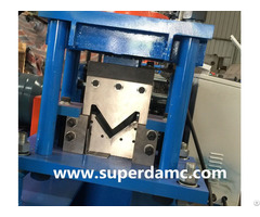 Steel Angle Roll Forming Machine For Metal L Profiles Corner Production
