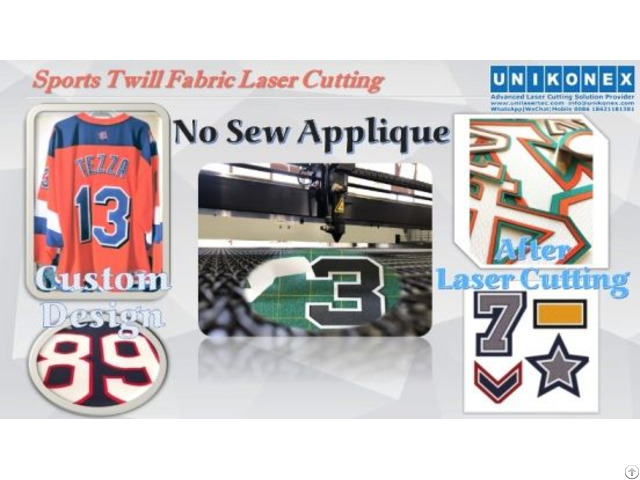 Permanent Sports Twill No Sew Applique Cut