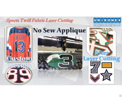 Permanent Sports Twill No Sew Appliqué Cut
