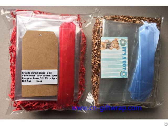 Crinkle Shred Paper For Gift Basket Fillers