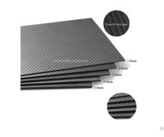 3k Twill Matte Full Carbon Fiber Plate