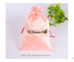 Satin Hair Extension Bag