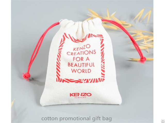 Small Cotton Gift Pouch