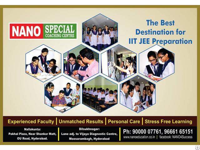 Best Iit Coaching In Hyderabad Nano Education