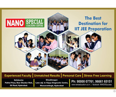 Best Iit Coaching In Hyderabad Nano Education