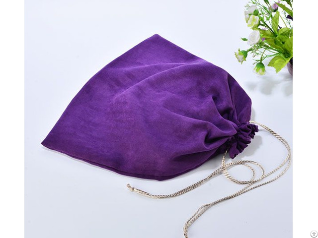 Suede Dust Bag For Shoes And Handbag
