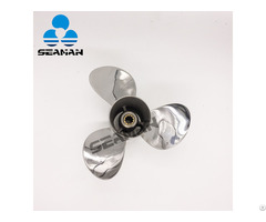 Stainless Steel Propeller For Yamaha Outboard Motor 25hp 30hp