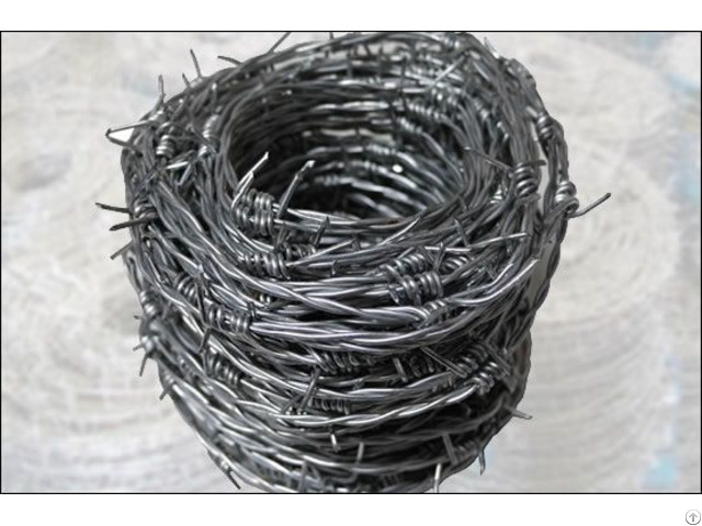 Pvc Coated Barbed Metal Wire