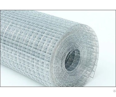 Welded Steel Wire Mesh Galvanized Plastic Coated