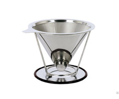 Stainless Steel Coffee Dipper Filter